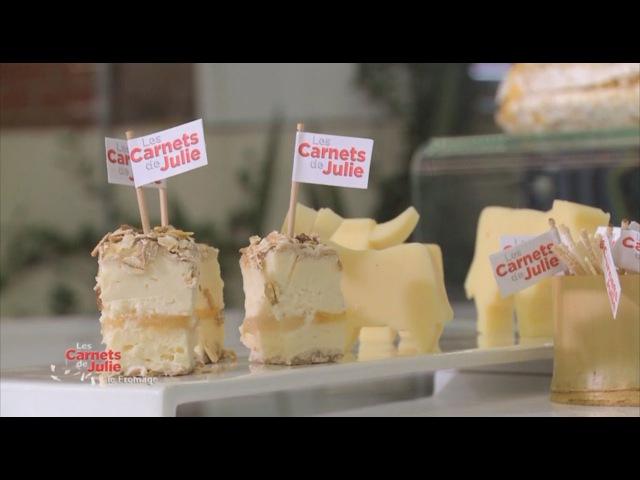 La carte des fromages - Les carnets de Julie