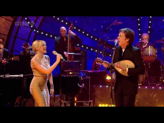 Kylie Minogue Paul McCartney - Dance Tonight (Jools Annual Hootenanny 2007)