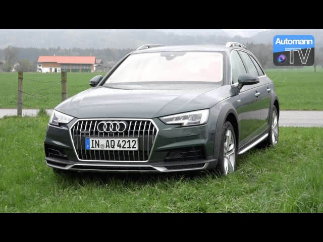 2017 Audi A4 Allroad 2.0 TDI (190hp) - DRIVE SOUND (60FPS)