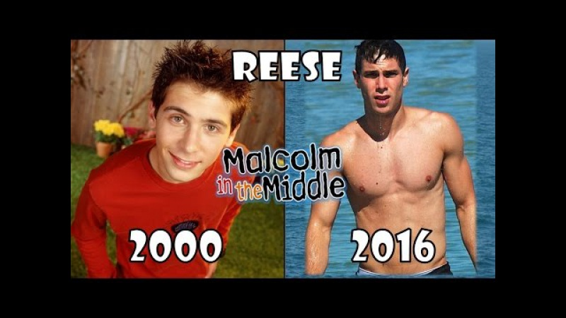 Malcolm in the middle Then and Now 2016