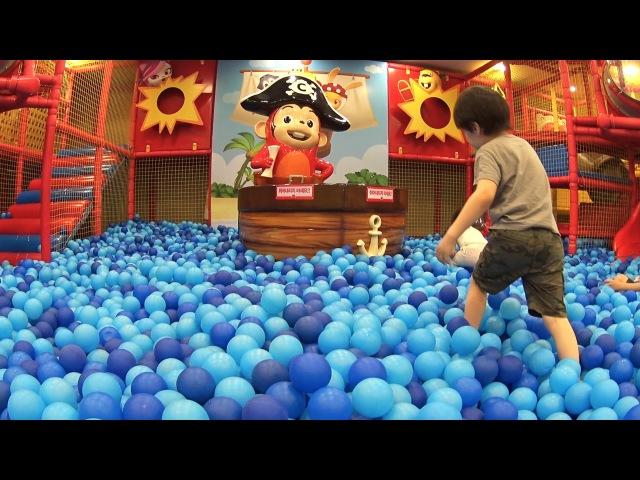 Вова в Корее. Детская игровая площадка Кокомонг. Children's playground CocoMong. 어린이 놀이터 코코몽