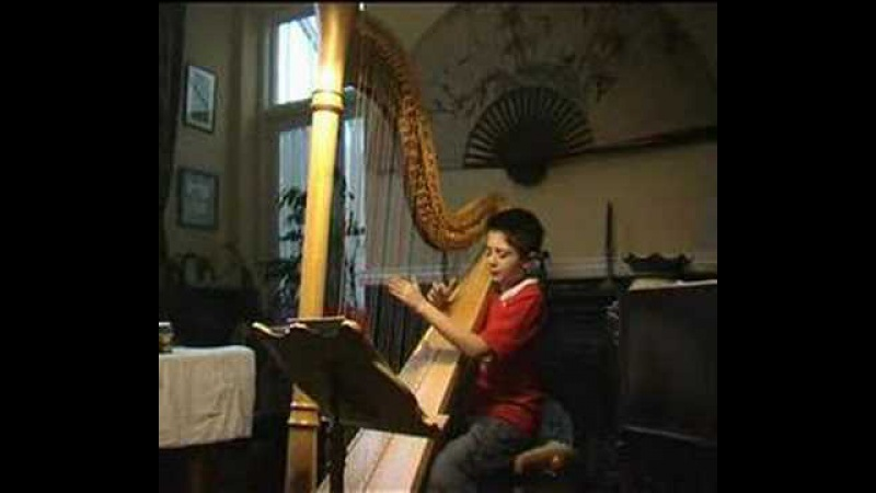Cantina Band from Star Wars on harp