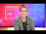 Alex Morgan in OLTV's Culture Club ''The girls welcomed me very well.