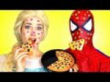 Человек-паук спасает хорошего ребенка! 👀 Замороженная Эльза против Малефисенты!