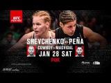 Fight Night Denver: Shevchenko vs. Pena promo