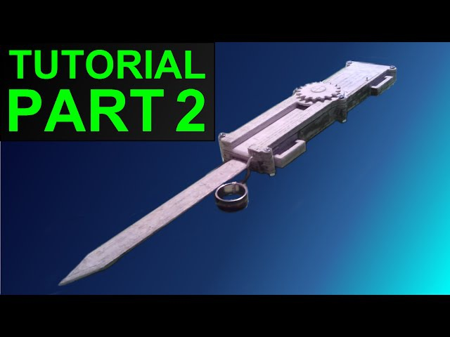 How to Build the (Assassin's Creed) Paper Full Size Dual-Action Hidden Blade (Part 2)