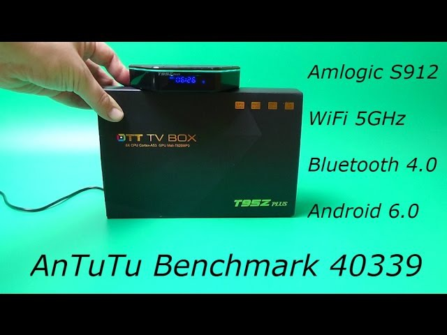 Обзор T95Z Plus Android tv box 4k S912, 2GB RAM, 16GB ROM, Android 6.0, Bluetooth 4.0