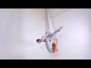 Duo on Aerial Hammock Anzhela Kulagina & Natalia Kochneva