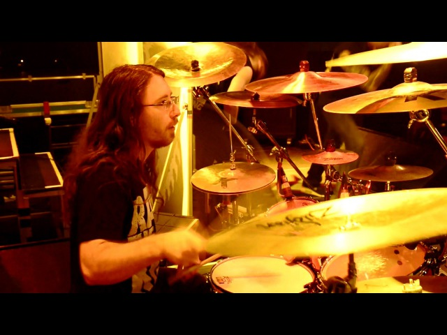 Ken Bedene (Aborted) - Parasitic Flesh Resection [drumcam live in Frankfurt 2016]