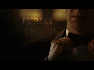 The Addams Family   Purple Lamborghini