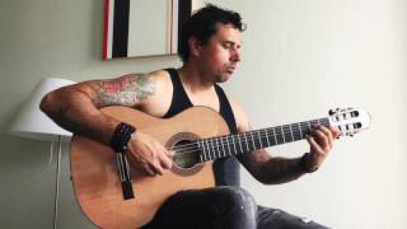 Invaders (Iron Maiden) - Ben Woods - Flamenco Guitar