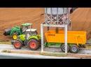 RC tractors working hard! John Deere, Claas Fendt in ACTION!
