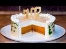 НОВОГОДНИЙ ТОРТ - Шампанское и мандарины   Tangerine Champagne Mousse Cakes Recipe