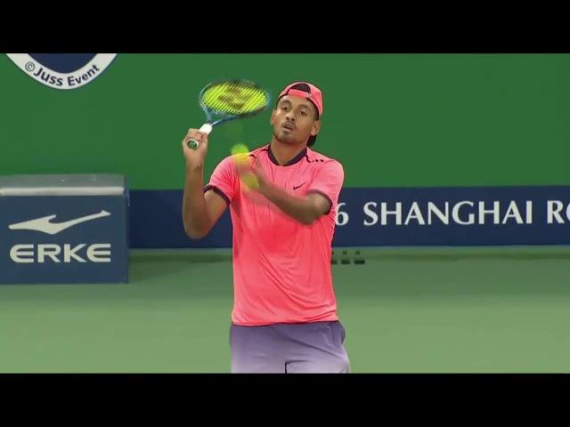 Tenista Kyrgios perde de proposito e irrita torcida