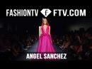Angel Sanchez Spring/Summer 2016 Runway Show | New York Fashion Week NYFW | FTV.com