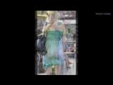 Девушки в прозрачном платье Girls in transparent dress