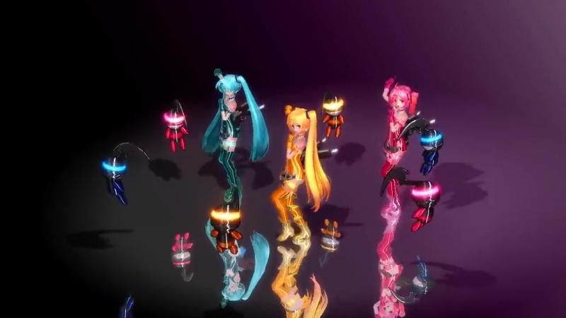Miku Hatsune - Hurly Burly 3D