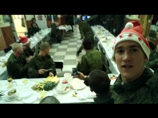 Калмыцкий танец в армии в канун нового года, м.п Дагестан | Калмыкия