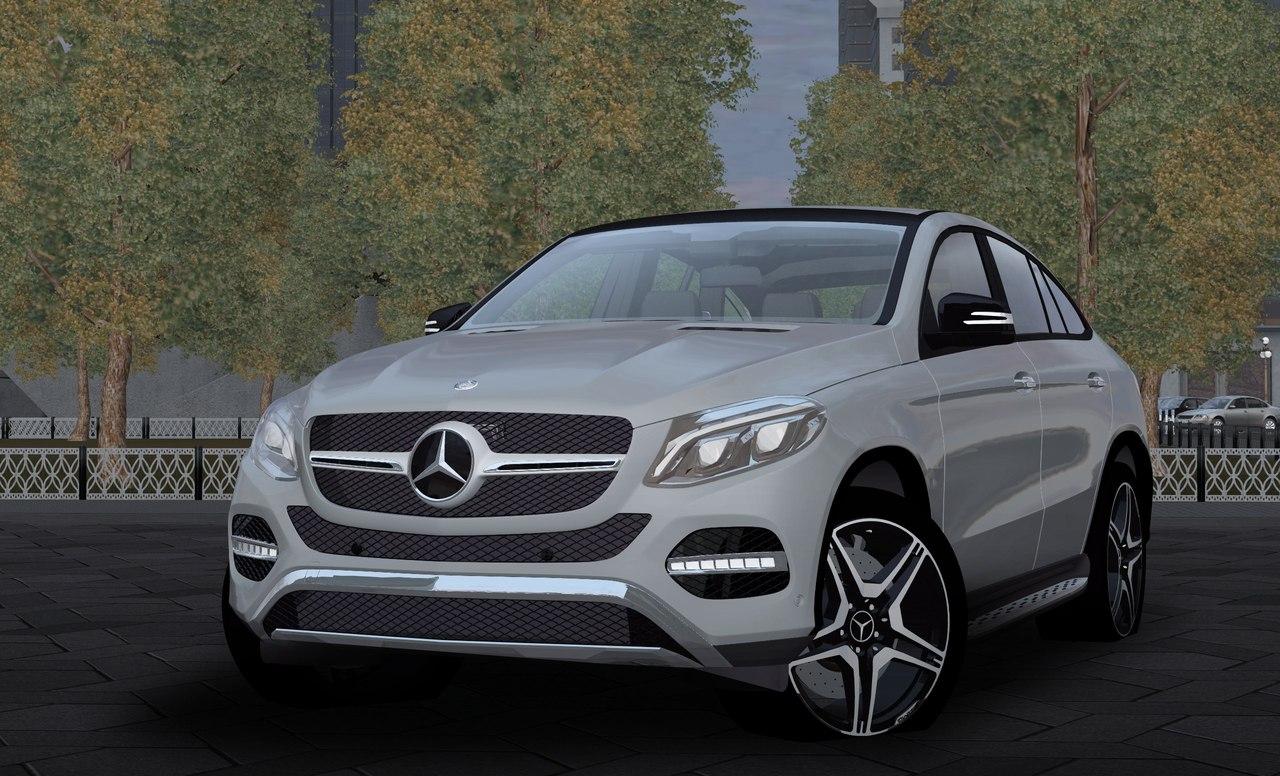 Mercedes-Benz AMG GLE 450 для City Car Driving 1.5.3