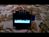 Audio processor with remote IR control and equalizer display
