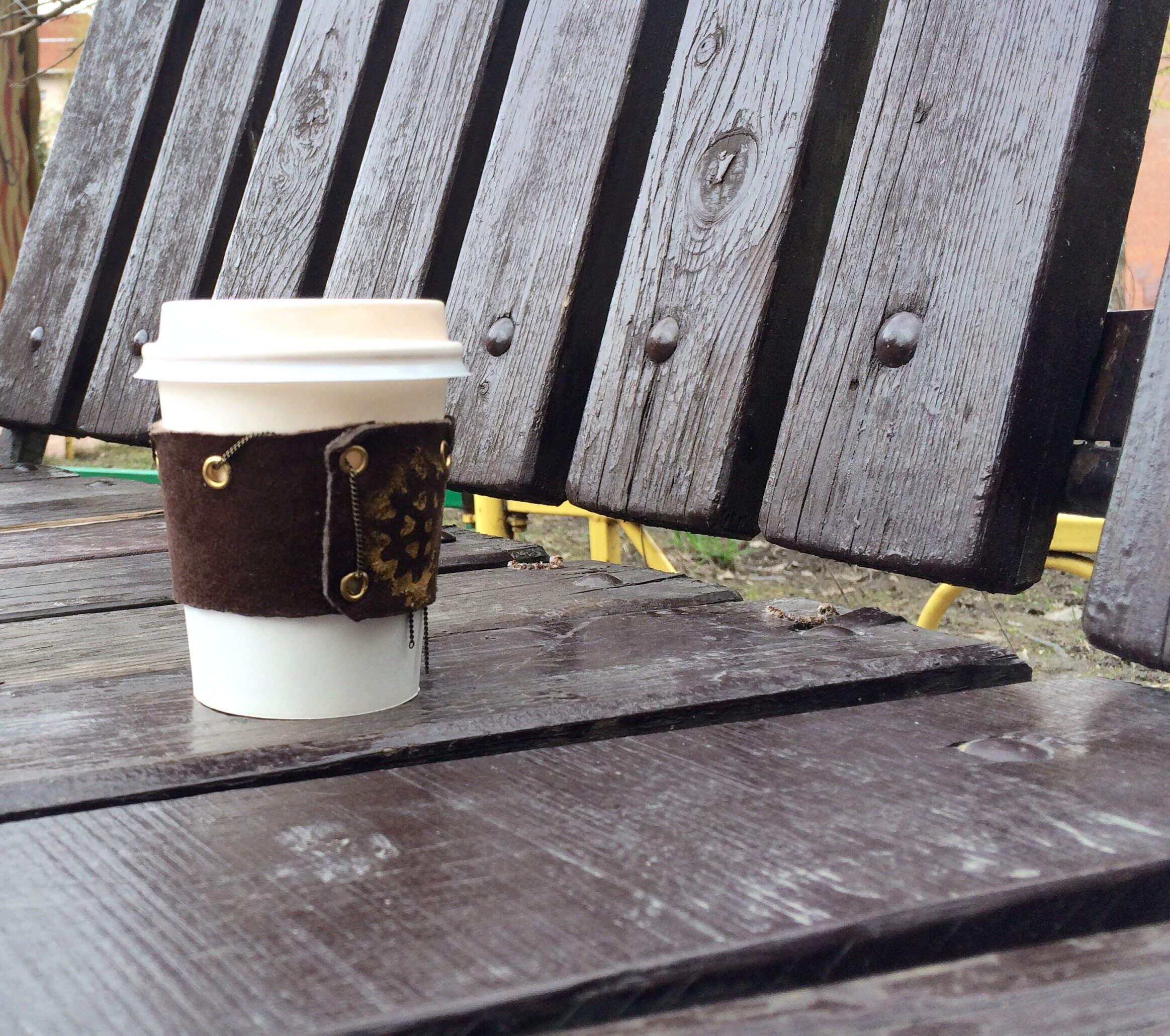 Как сделать coffee cosy IePQA7QWyqo