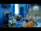 Киртан на воскресной программе в Голока Джаме. 05.03.17