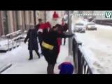Человек-паук, Бэтмен и Санта