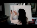 Демонстрация росписи-обманки на холсте