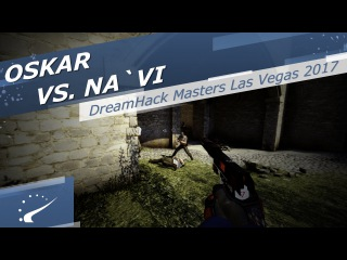 Oskar vs. Na`Vi - DreamHack Masters Las Vegas 2017