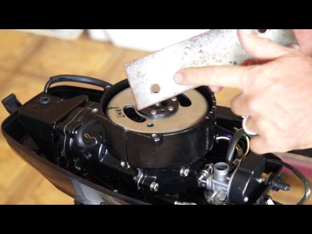 Разбор лодочного мотора Ханкай 4