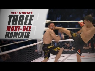 Топ-3 крутых эпизода турнира M-1 Challenge 76 - Fight Network