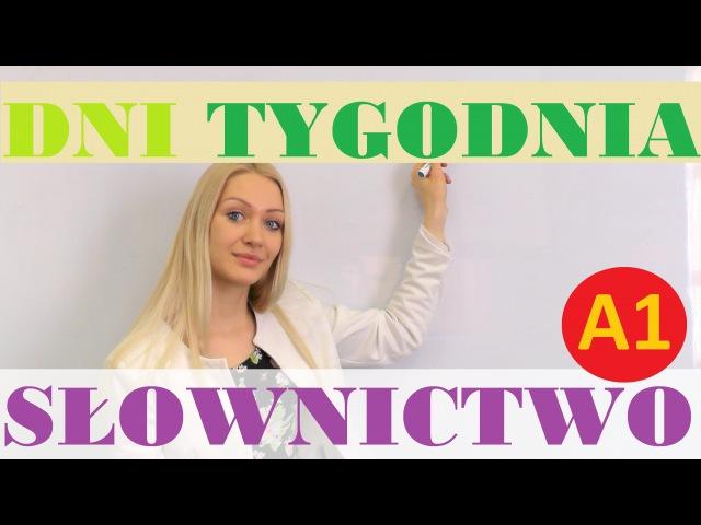 Polish for foreigners dni tygodnia
