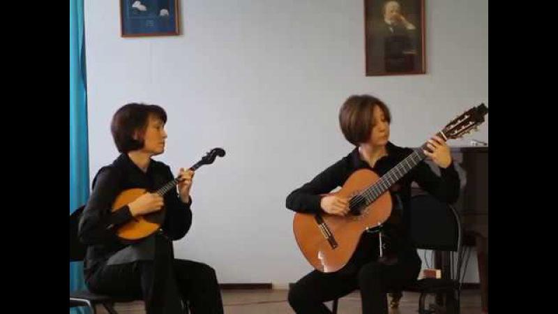 M.D.Pujol - Suite Buenos Aires - I-Pompeya (Marina Zamula, Daria Trofimova)