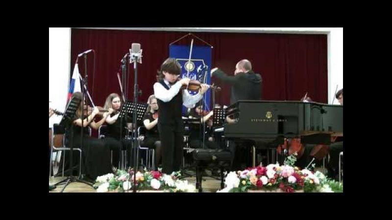 Blumin Matvey - Wieniawski concert d-moll op 22, 1. mov