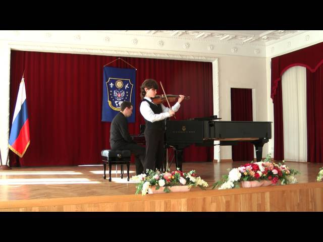 Matvey Blumin - Wieniawski, Caprise op 18, No 2