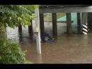 Потоп после дождя в Рязани