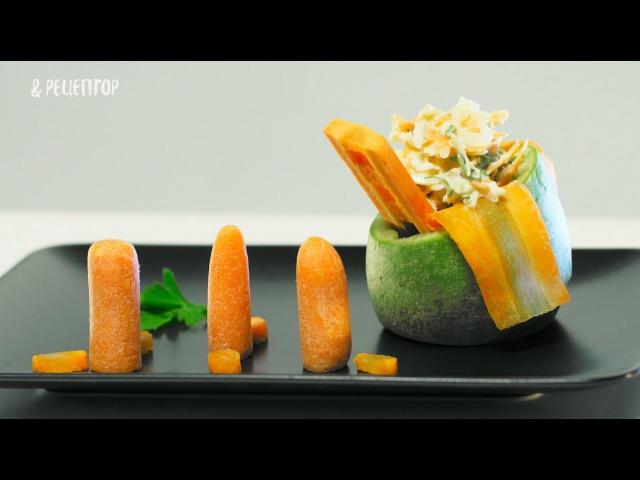 Салат из моркови и редьки. Высокая кухня за 100 рублей [ Рецепты от Рецептор ]