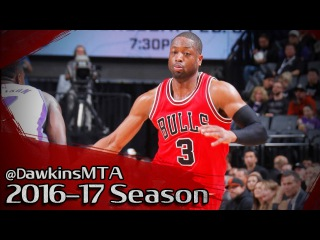 Dwyane Wade Full Highlights 2017.02.06 at Kings - 31 Pts, NASTY In CLUTCH!