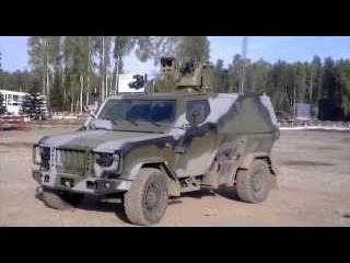 Работа боевого модуля Скорпион-ЛША-2Б