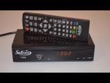 DVB-T2 тюнер (ресивер) Т2 Satcom T320 AC3 Dolby Digital - обзор и настройка