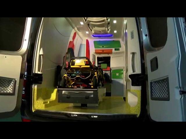AMBULANZ MOBILE Der neue DELFIS Europa der sicherste Rettungswagen seiner Klasse AMBULANCE