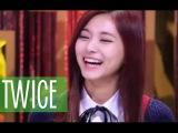 TWICE Funny Moments - Tzuyu funny reaction to Samgyeopsal