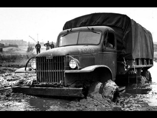 Автомобили США времён В.О.В. «Виллис» и «Студебеккер» Военное дело.