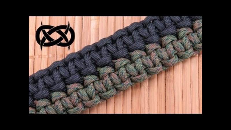 How to make a Mated Solomon Bars Paracord Bracelet