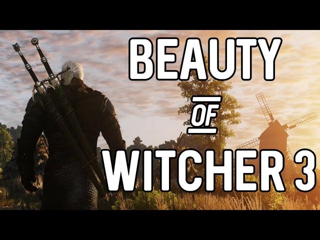 «Ведьмак 3: Дикая Охота» — Пейзажи игры