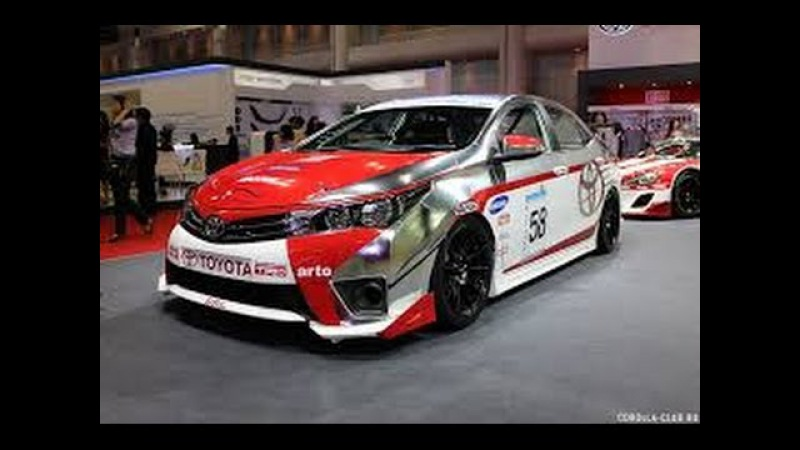 Процесс производства и сборки Toyota Corolla e160