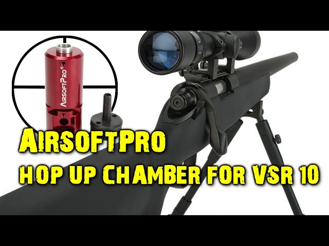 AirsoftPro hop up chamber for VSR-10 (PDI clone or not) / Хоп ап камера от аирсофтпро