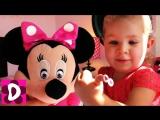 Минни Лунатик и Волшебная Доска Дианы Фрозен Эльза и Анна Супер набор для Девочек ✿ Kids Diana Show