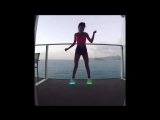 Girls Dancing With LED Shoes