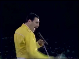 Queen - under pressure live at wembley 86